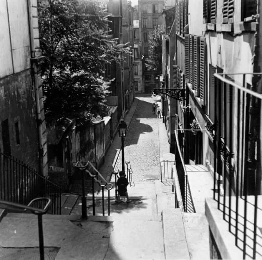 A photo Albert took of Montmartre, Paris, 1950.