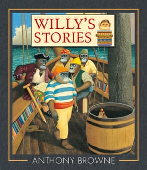 Willy's Stories illustrated and written by Anthony Browne (Walker Books)