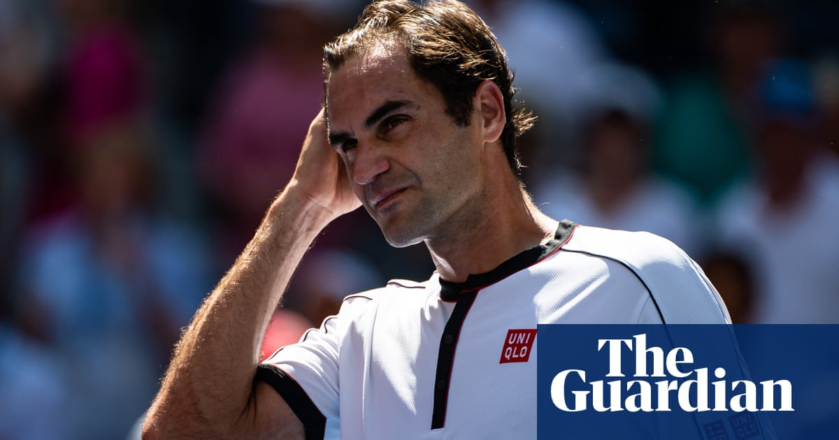 Angry Roger Federer denies influencing US Open schedule after rout of Dan Evans