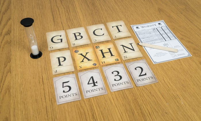 Wordsy is a fast-playing, fiercely competitive alternative to Scrabble.
