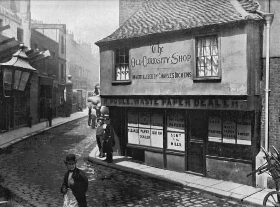 The Old Curiosity Shop c 1890