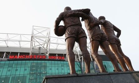 A general view of the stadium, Old Trafford, Manchester