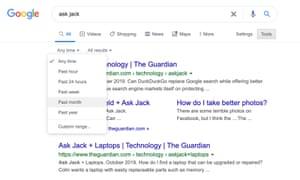 يمكن أن يؤدي تضييق نطاق البحث حسب التاريخ إلى العثور على قطع أقدم.كيف يمكنني تحسين استخدام بحث Google؟