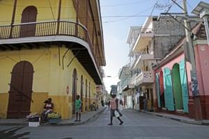 street life in Cap Haitien
