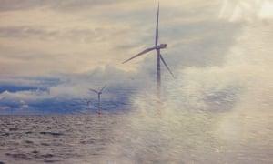 London Array offshore wind farm, Thames estuary