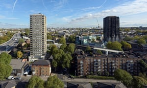 The Inequality Project focused on Whitstable Tower, north Kensington, London, which is next to Grenfell Tower.