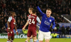 Leicester City 4 0 Aston Villa Premier League As It Happened Football The Guardian