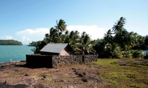 Alfred Dreyfus's prison cell on Ile du Diable, Devil's Island, French Guiana. Devil's Island was a French penal colony until the 1940s