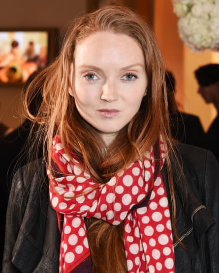 'I'd normally feel guilty if I was bossing people around' … Lily Cole.