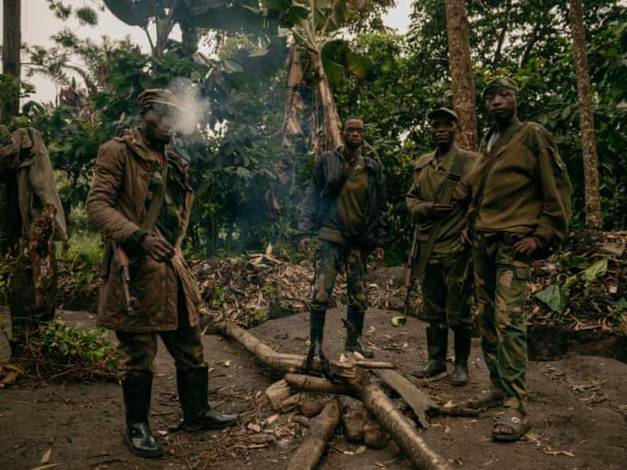 FARDC front-line positions between Loselose and Mutwanga, North Kivu.