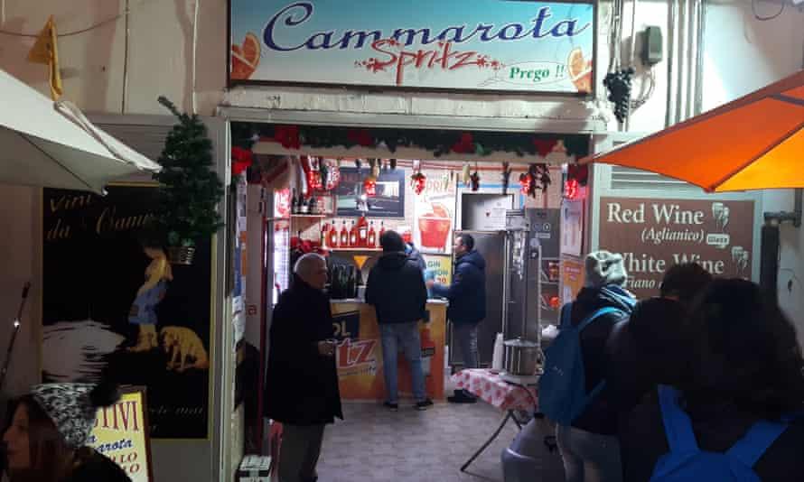 Cammarota Spritz, Naples