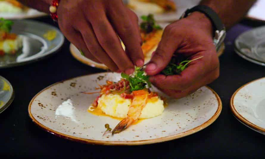 """High on the Hog: How African American Cuisine Transformed America. Episode 1, """"Our Roots"""". c. Courtesy of Netflix © 2021"""