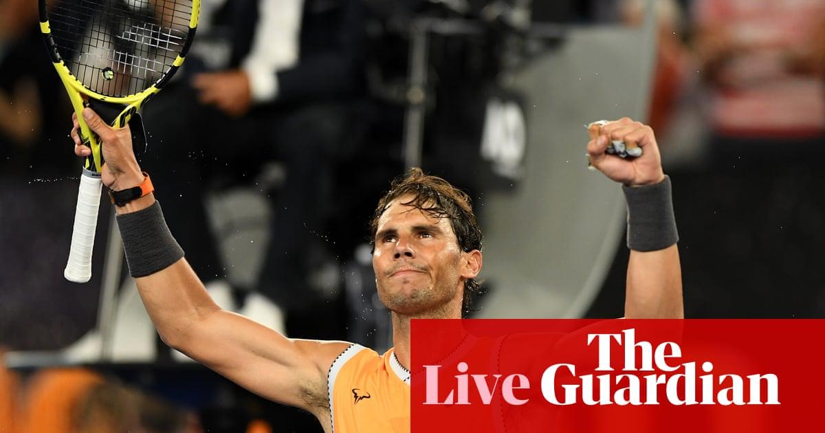 4bb940a0f59de Rafael Nadal beats Alex De Minaur  Australian Open 2019 – as it happened
