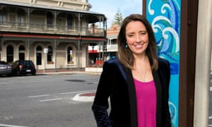 Ali-Clarke a presenter for ABC Adelaide, who broke down on air after reading abusive texts from listeners.