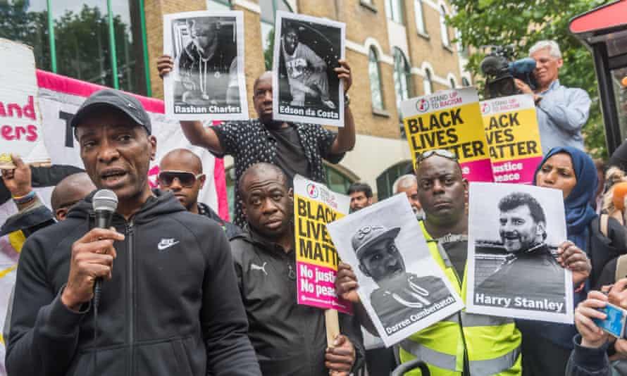 Rashan Charles protest