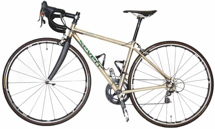 Photograph of Seven Axiom SL road bike