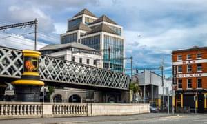 Dublin's financial district