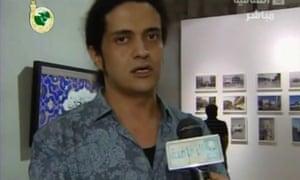 Palestinian poet and artist Ashraf Fayadh