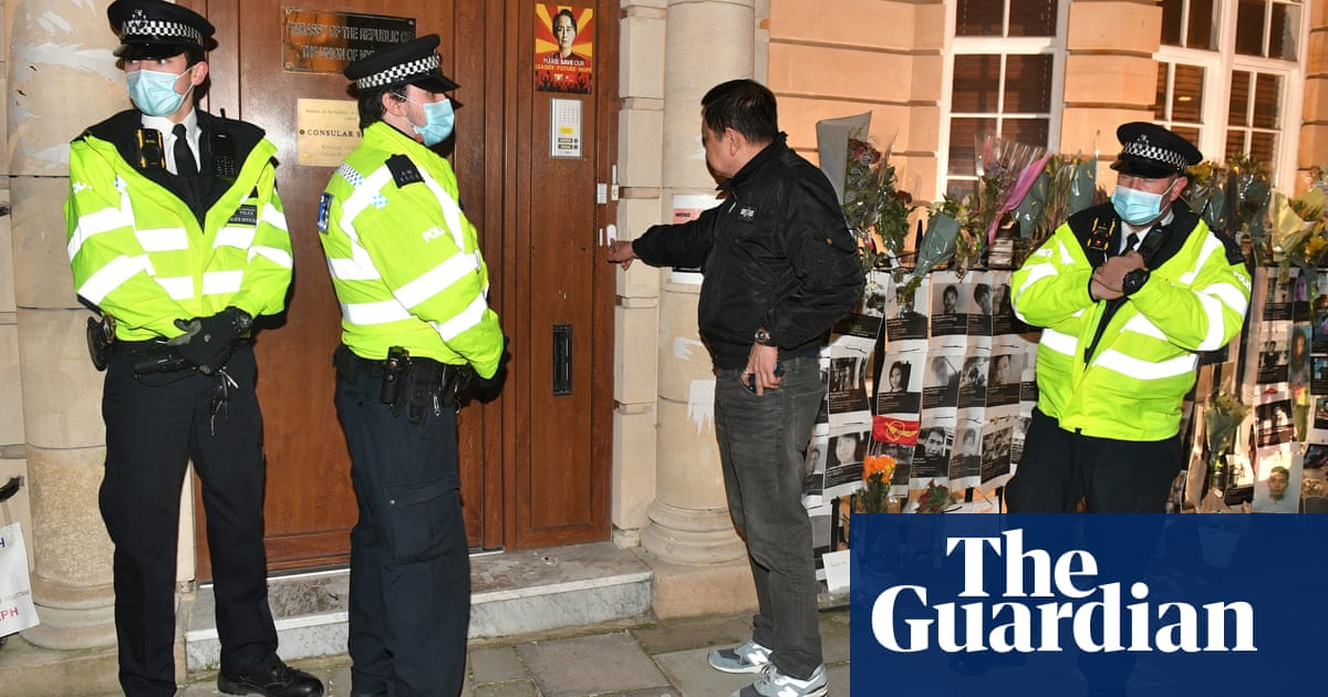 Myanmar's ambassador to UK locked out of embassy, reportedly by deputy