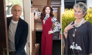 Larry David in Curb your Enthusiasm, Debra Messing in Will & Grace and Roseanne Barr.