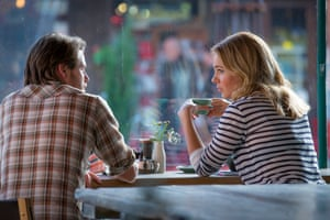 Ian Meadows and Jessica Marais as Pete and Lily in The Wrong Girl