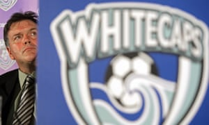 Vancouver Whitecaps president Bob Lenarduzzi