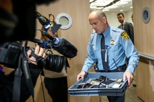 Geneva, Switzerland: A security official