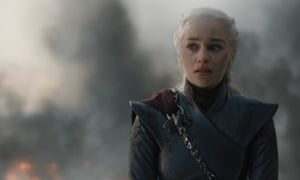 They're all coming for her ... Daenerys in Game of Thrones.