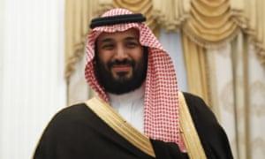 Mohammed bin Salman, de facto ruler of the Kingdom of Saudi Arabia.