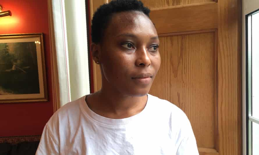 Vikisha Sesaya, an asylum seeker from Sierra Leone