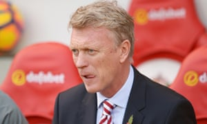David Moyes, during Sunderland's 4-1 defeat to Arsenal at the weekend.