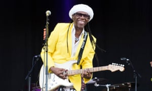 Nile Rodgers has produced albums and tracks for David Bowie, Madonna, and Daft Punk among others.