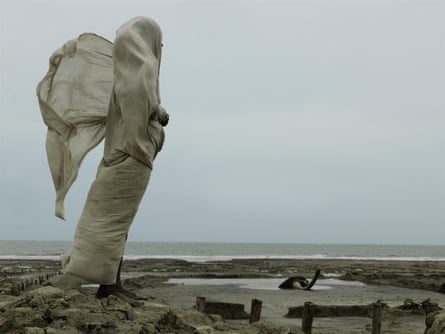 Widow Kanaklata Das looks out to sea on Sagar Island, one of the many affected by sea-level rise in the Sundarbans.