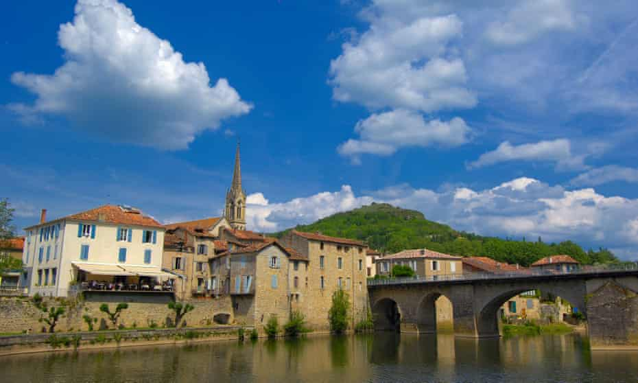 Saint-Antonin-Noble-Val in Tarn-et-Garonne, which is 90km north of Toulouse.