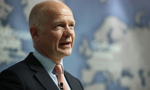William Hague speaking