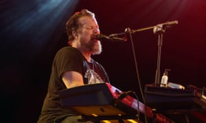 John Grant performs at the NOS Alive music festival in Lisbon, on July 7, 2016.