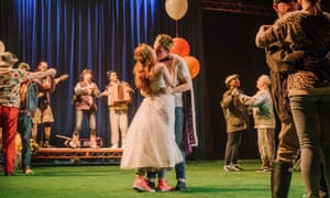 Linguistic and theatrical energy … The Winter's Tale at the Royal Lyceum, Edinburgh.