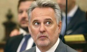 Dmytro Firtash, one of Ukraine's most influential oligarchs, appears in court in Vienna last week.