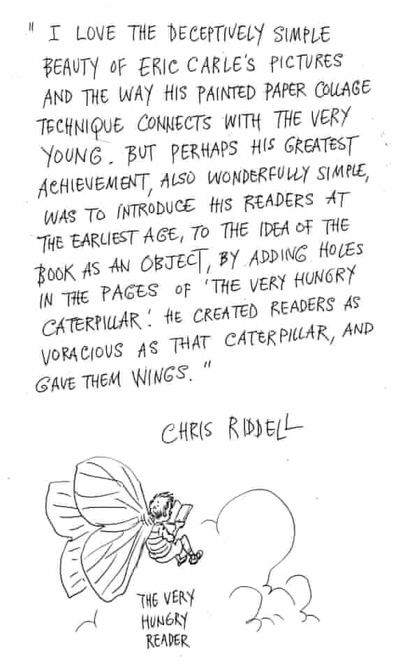 Chris Riddell on Eric Carle