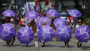 Manila, PhilippinesProtesters gathered to urge President Rodrigo Duterte to address the pressing problems of lack of food, jobs and peace instead of killings and violence