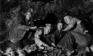 In the 1940 film The Proud Valley, about a Welsh community that takes in a black unemployed seaman.