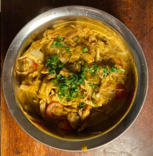 Anjum Anand's turkey curry: 'flavourful but not spicy' and gloriously aromatic.