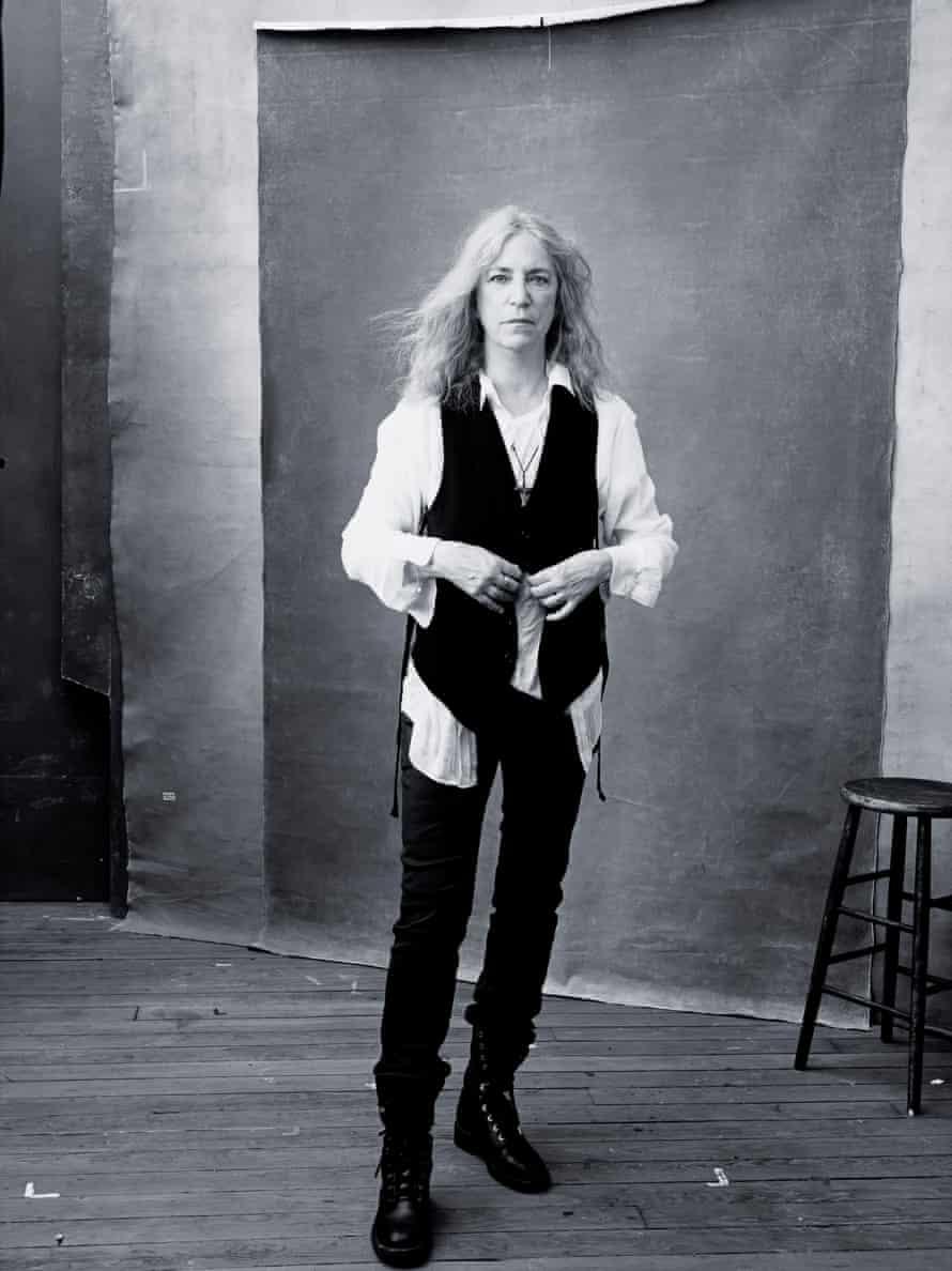 Patti Smith in the Pirelli calendar 2016, photograph by Annie Leibovitz.