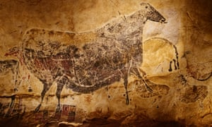 The Lascaux caves in south-western France.