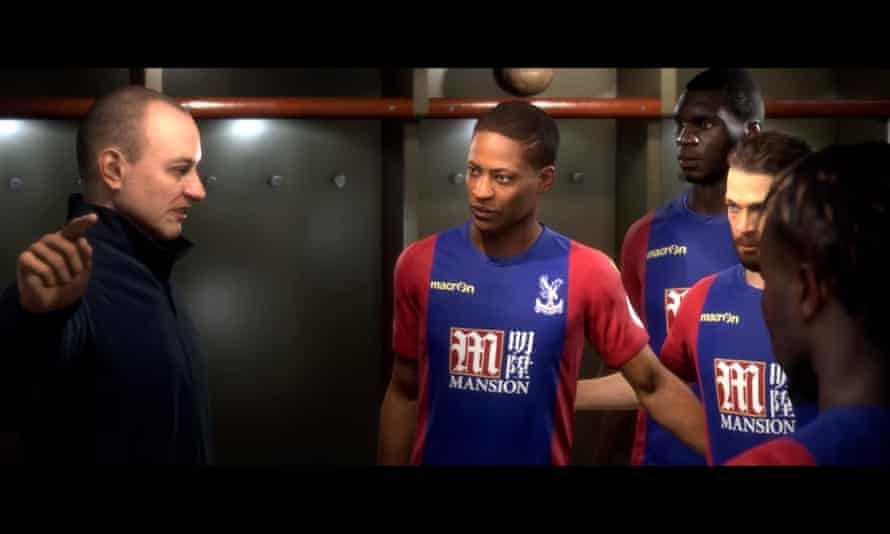 The Journey mode gives players control of a fledgling Premier League player as he tackles opponents, agents and other dilemmas
