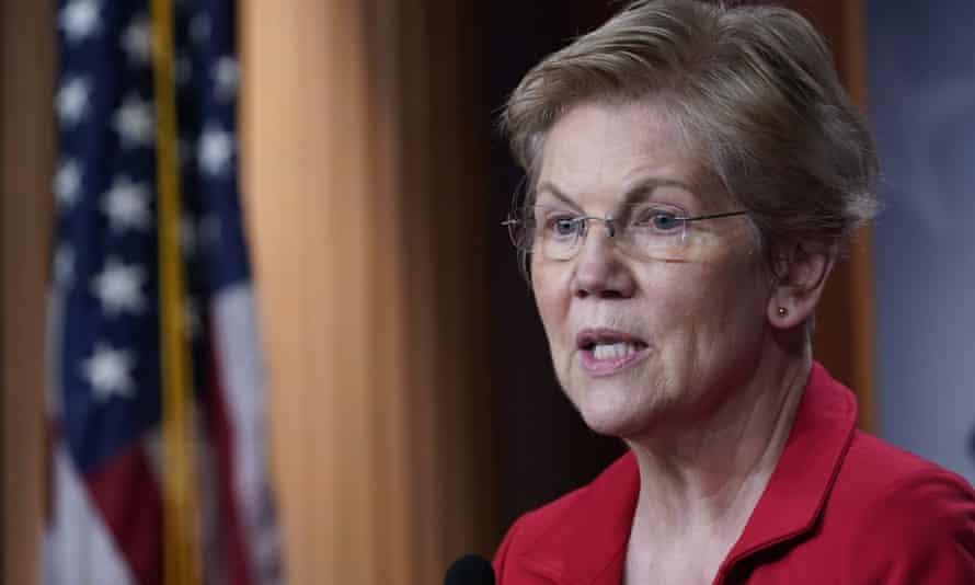 Senator Elizabeth Warren's book Persist will be published on Tuesday.