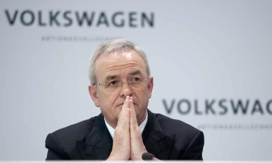 Martin Winterkorn, who resigned as chief executive over the emissions scandal.