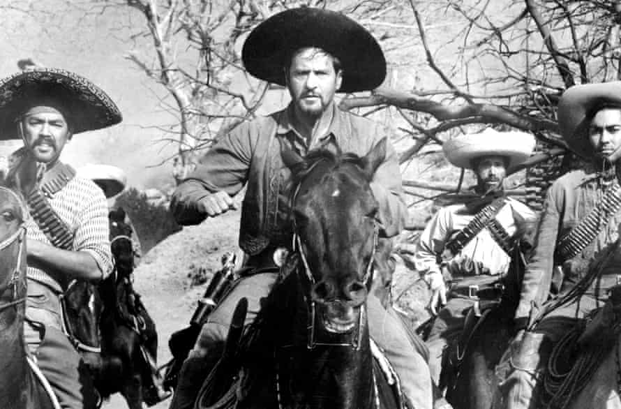 Eli Wallach as bandit leader Calvera.
