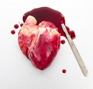An edible heart by Sarah Hardy