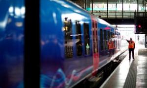 A TransPennine Express service between Manchester and Leeds.